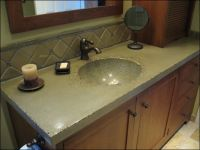 integrated sink countertop bathroom | My Web Value