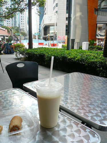 blog voyage travel singapour singapore food nourtirue lait soja