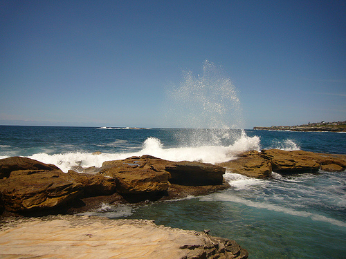 blog voyage australie whv travel coogee beach wave ocean