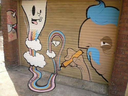 Paddington et art de rue