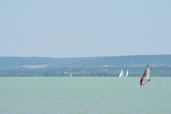 Sur les rives du lac Balaton