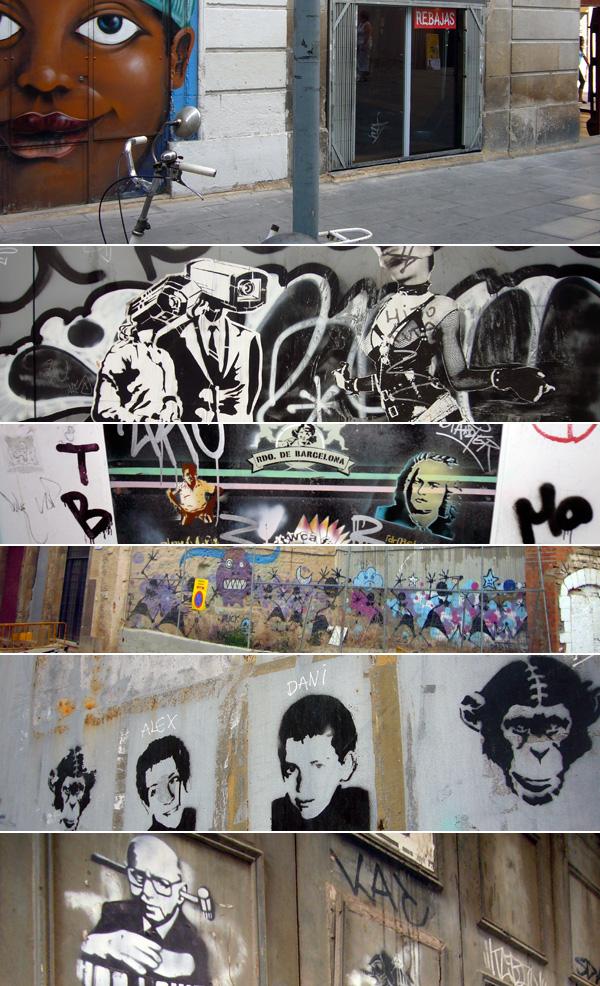 blog voyage australie espagne barcelone streetart tag graph graff stencil pochoir art urban culture
