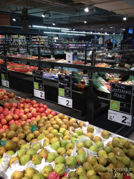 blog culinaire voyage partisans du gout fruit supermarché lille france product vegetable