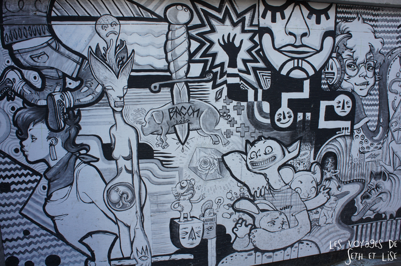 blog voyage canada pvt montreal streetart noir blanc design