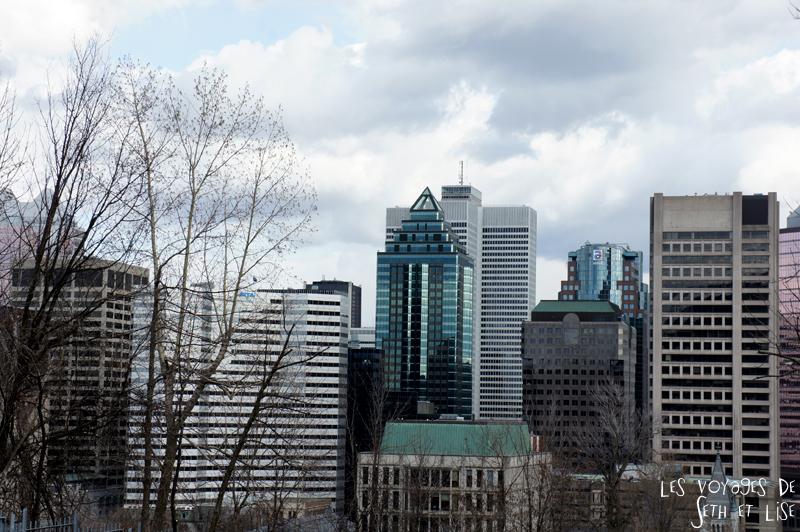 blog voyage canada pvt montreal vue building hauteur downtown
