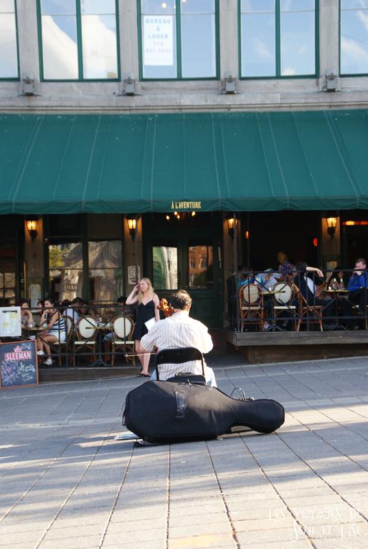 blog canada montreal pvt couple tour du monde voyage violoncelliste artiste violoncelle cafe