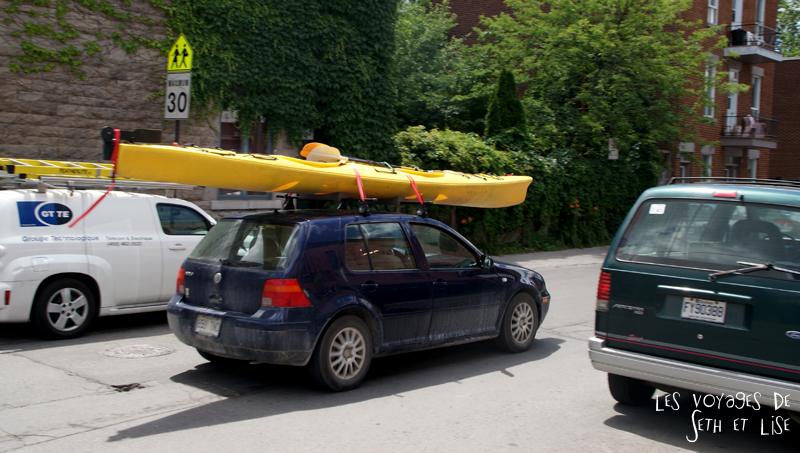 blog canada montreal pvt couple voyage tour monde photo insolite kayak canoe voiture touriste quebec drole