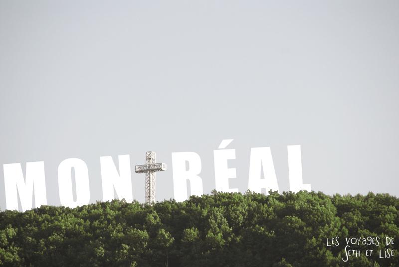 blog voyage canada montreal pvt couple tour monde photo mont royal typo christ jesus religion
