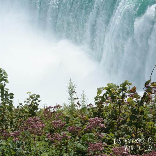 niagara falls chutes ontario canada pvt blog tourisme cascade nature couple vegetation