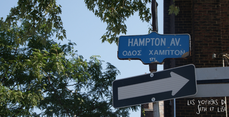 blog photo voyage pvt canada toronto ontario couple tour du monde travel photography greektown nom rue