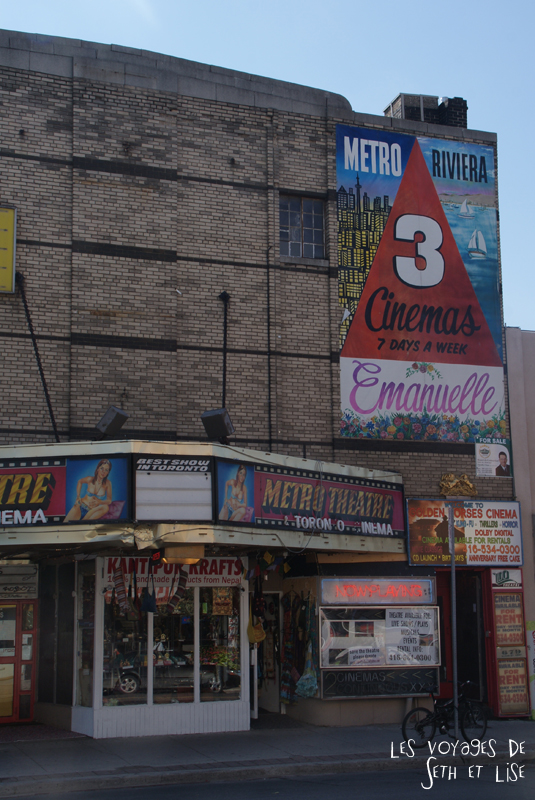 blog photo voyage pvt canada toronto ontario couple tour du monde travel photography koreatown cinema
