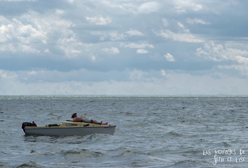 pvt canada toronto couple blog iles island ferry voyage tour du monde detente bateau pecheur
