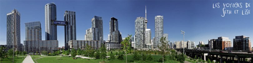 blog photo voyage pvt canada toronto ontario couple tour du monde travel photography route toronton panoramique building skyline