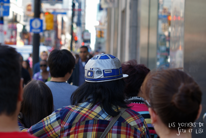 blog voyage photo canada pvt toronto funny drole humour R2D2 droid starwars