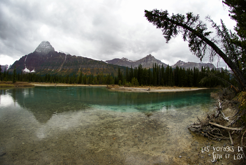 blog pvt photographie pvtiste canada alberta rocheuses rockies moutains voyage montagne couple tour du monde nature parc national lac lake rocheuse river