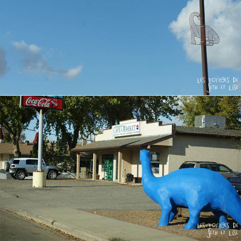 blog canada voyage photo pvt alberta drumheller dinosaure deco