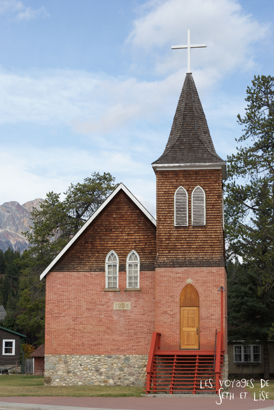 blog pvt pvtiste voyage photo photographie couple tour du monde canada japser rockies alberta rocky mountain vintage ville urban church eglise