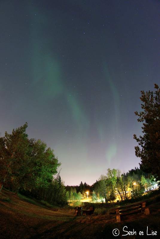 blog voyage canada pvt photo aurore boreale aurora northern lights edmonton nuit
