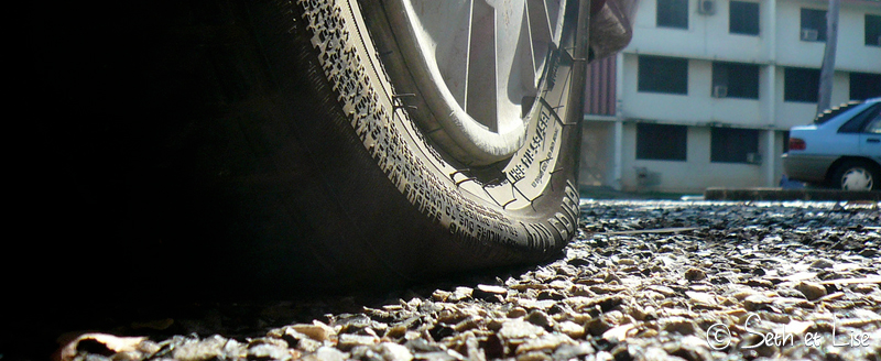 blog voyage conseil road trip aventure roadtrip voiture van crevaison panne pneu