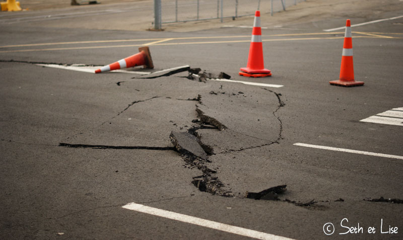 blog voyage seth lise photo earthquake wellington seisme july 21 juillet 2013 crack