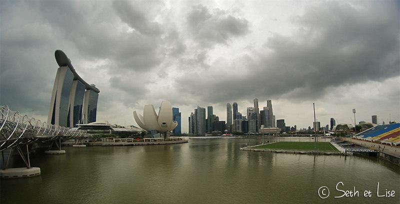 Singapour, streetfood, quartier arabe et CBD