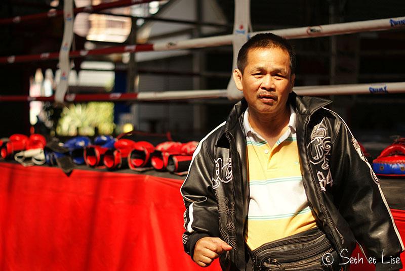 Boxe thaïlandaise et massage à Chiang Mai
