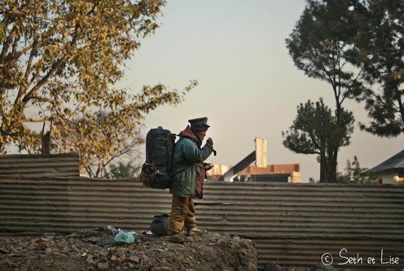 Découverte de Katmandou, capitale de la pollution