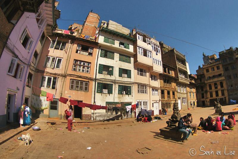blog voyage nepal tour du monde durbar square katmandou placette
