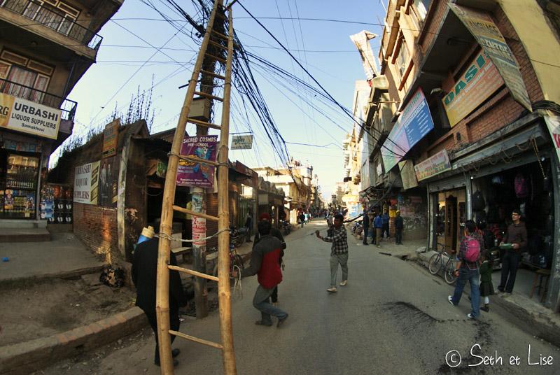 blog voyage tour du monde nepal katmandou electricite