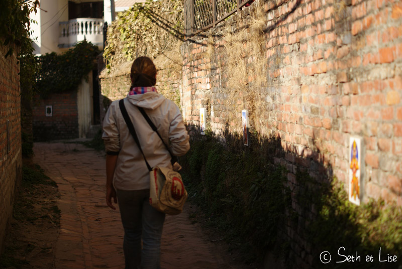 blog voyage tour du monde nepal katmandou ruelle idole