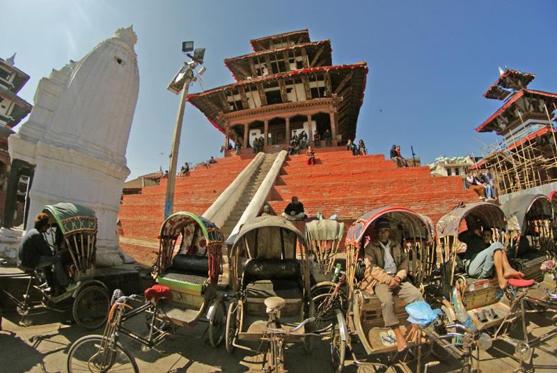Durbar Square, la place historique de Katmandou