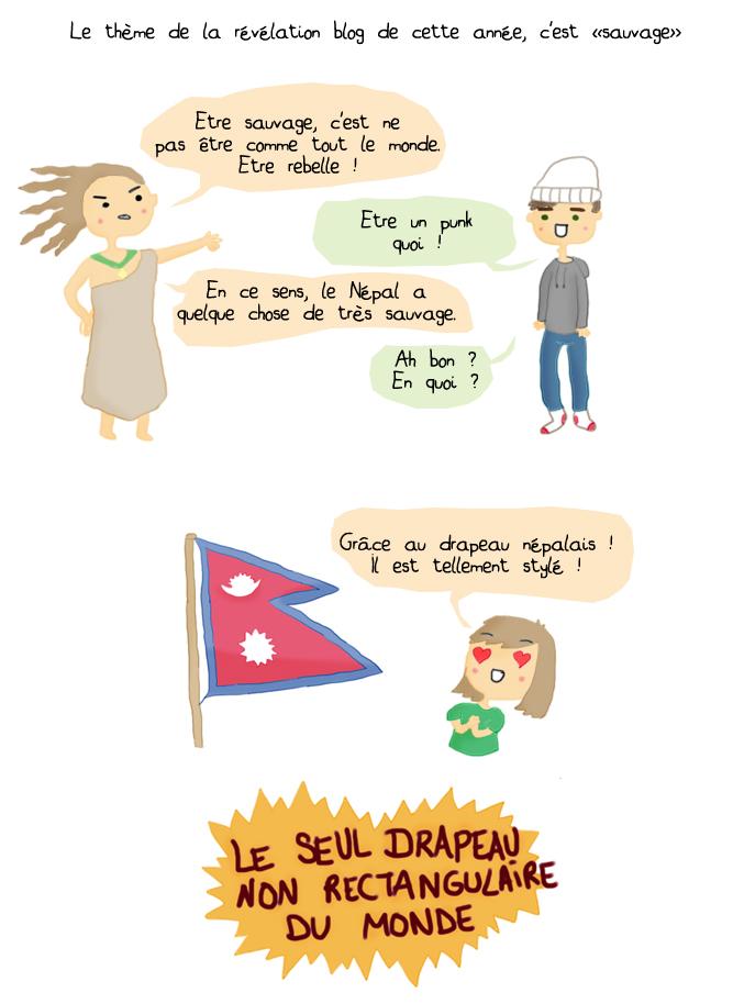 blog bd nepal drapeau humour prix blog angouleme