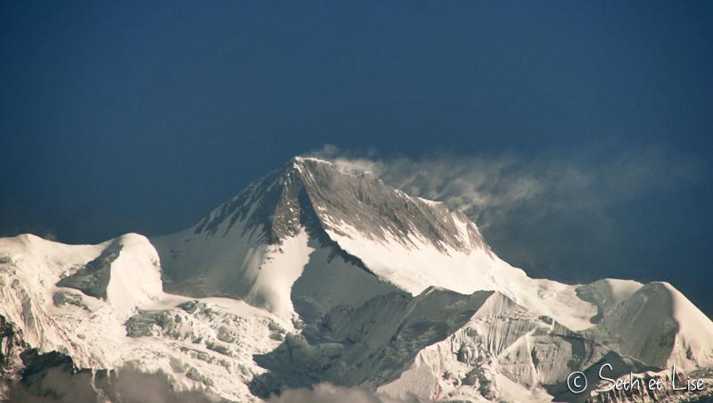 Bulletin météo: Vvents forts à 8000m d'altitude!