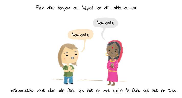 Se faire comprendre au Népal