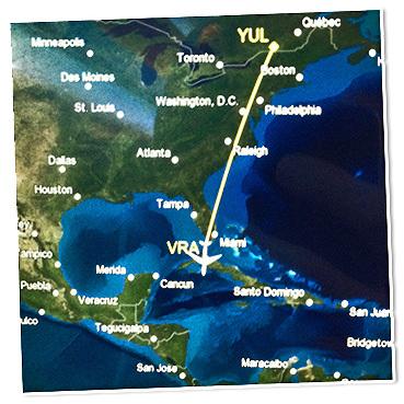 On débarque à Cuba!