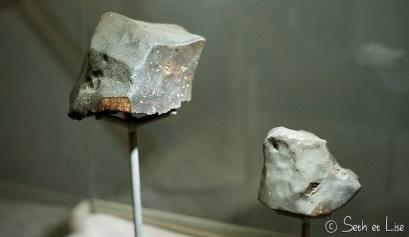 deux météorites