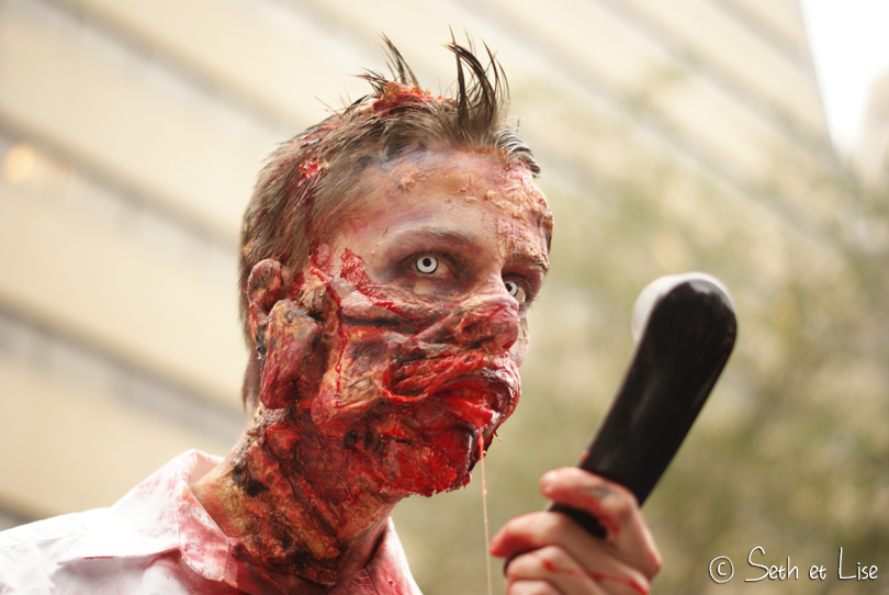 zombie telephone marche des zombies montreal