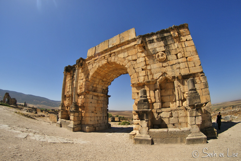 arc triomphe volubilis