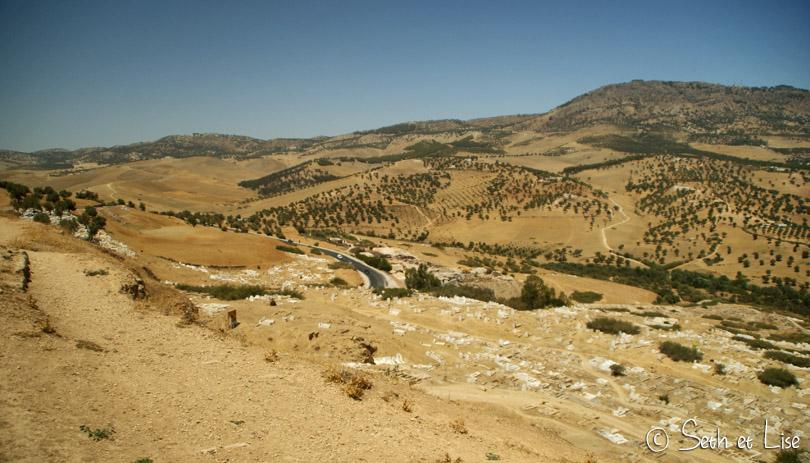 tombeaux des mérinides route fes maroc