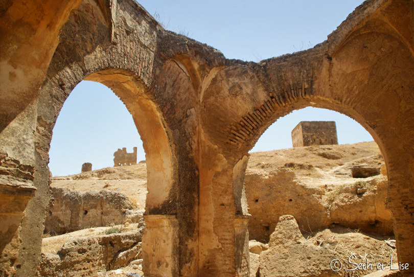 Les tombeaux des mérinides à Fès