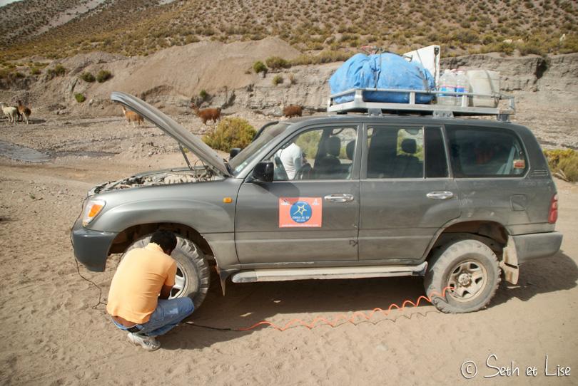 repair 4wd bolivia