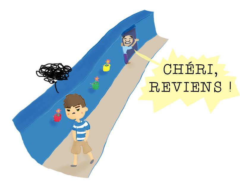 carte postale chefchaouen bd humour Négociation