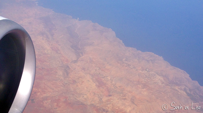 transports au maroc avion