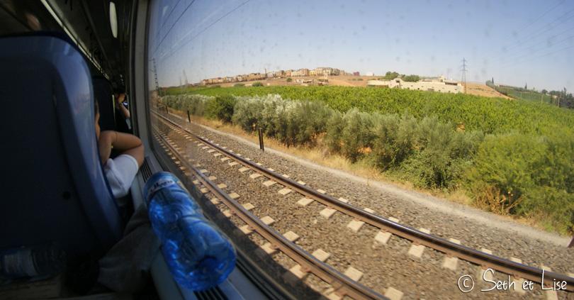 vue train maroc