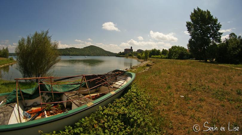 espagne lac