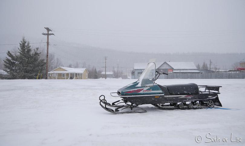 dawson city snowmobil