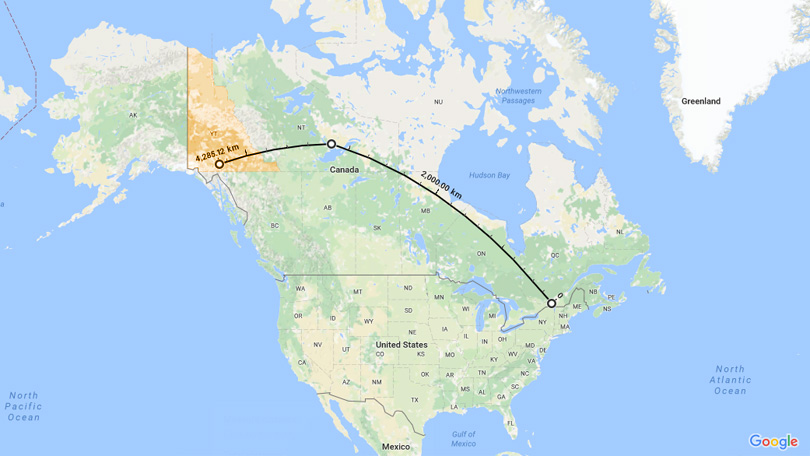 map airnorth flight