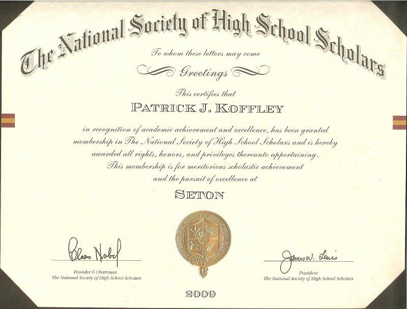 English language essay writing - The Lodges of Colorado Springs - sample scholarship certificate