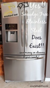 Yes smudge proof stainless steel really does exist