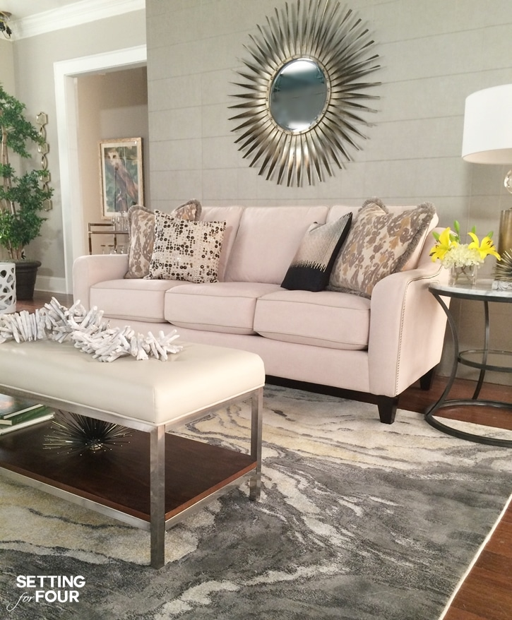 Living Room Design Ideas And $10,000 Giveaway - Setting for Four - living room design tips